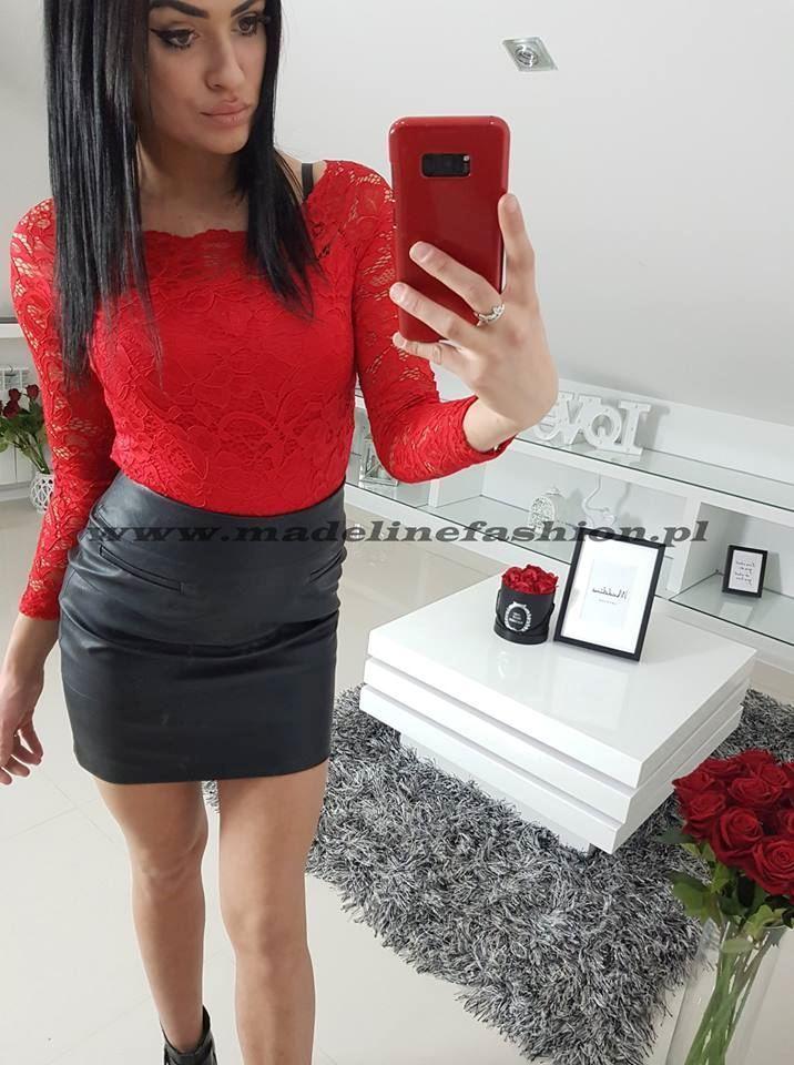 products 0002796 spodnica skora mini czarna 1