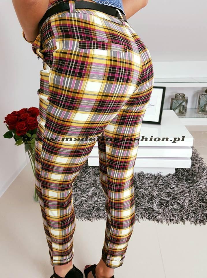 products 0002897 spodnie w krate karil i 1