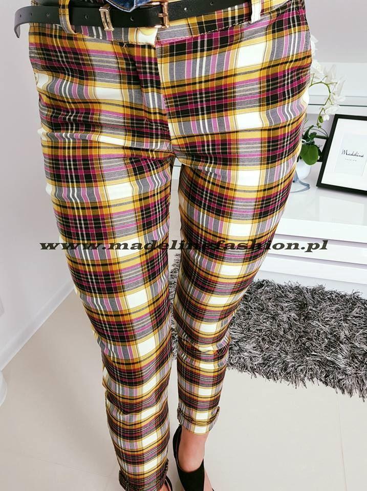 products 0002898 spodnie w krate karil i 1