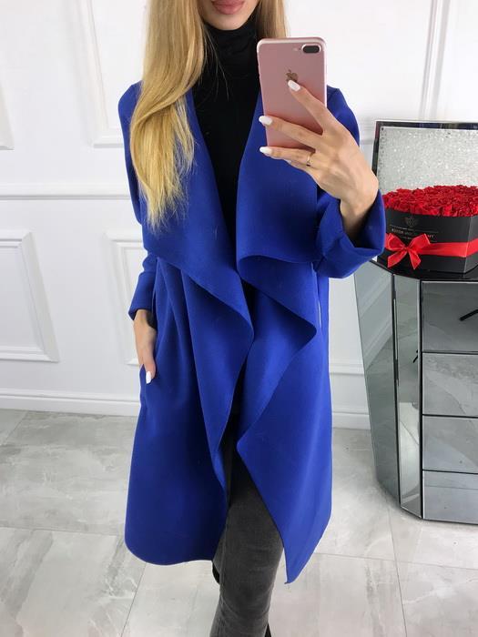 Płaszcz Plus size Chabrowy