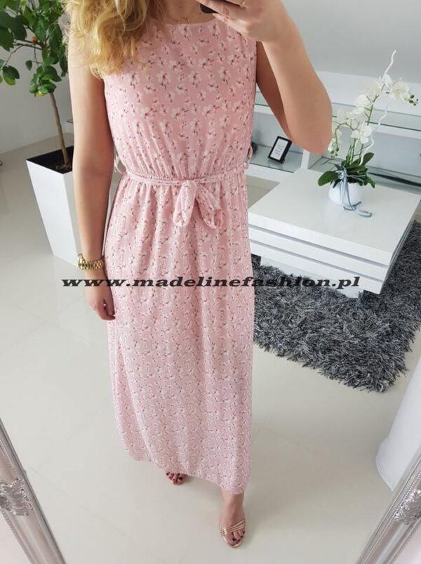 products 0003107 sukienka flavio dluga rozowa 1