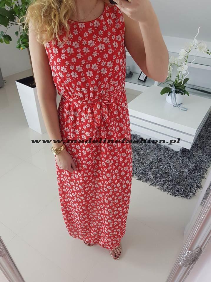 products 0003108 sukienka flavio dluga czerwona 1