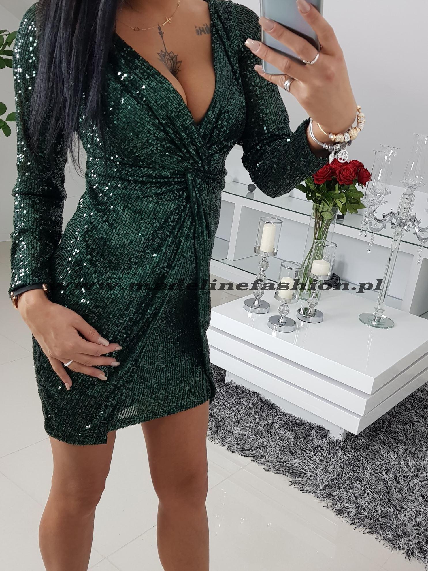 products 0003356 sukienka cekinowa zielona daren ii 1