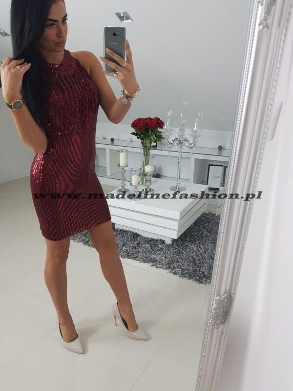 products 0003435 sukienka cekinowa bordowa sarita ii 1