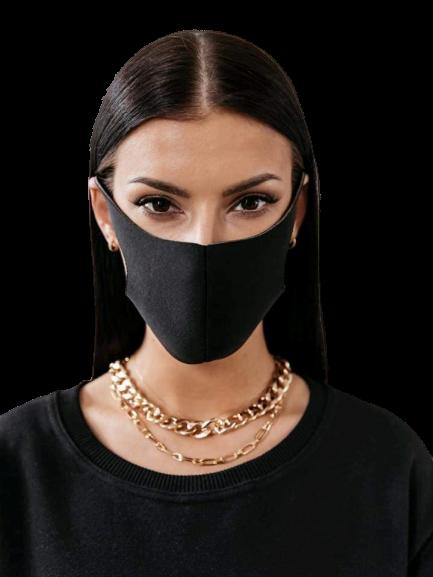 products 0003463 maska na twarz maseczka ochronna czarna 1