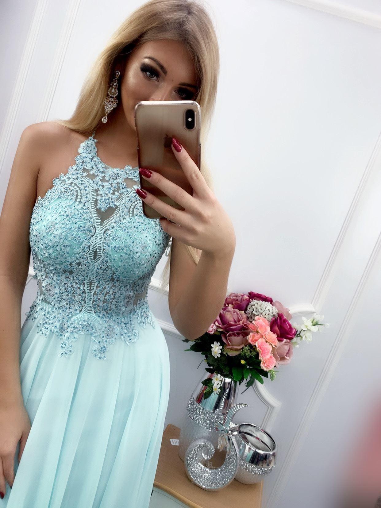 products 0003497 sukienka mercedes dluga mietowa 1