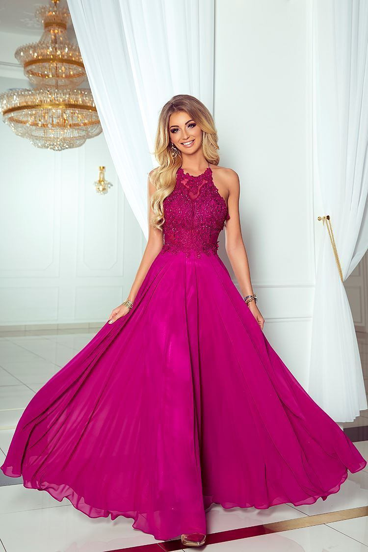 products 0003504 sukienka mercedes dluga fioletowa 1