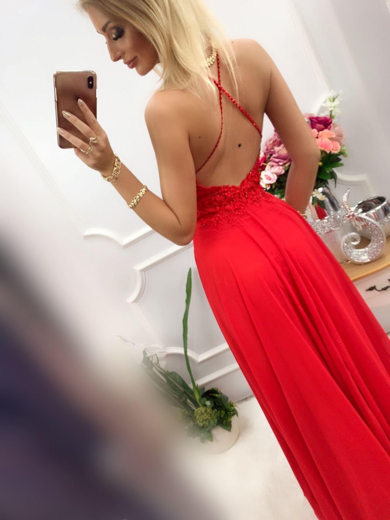 products 0003512 sukienka mercedes dluga czerwona 1