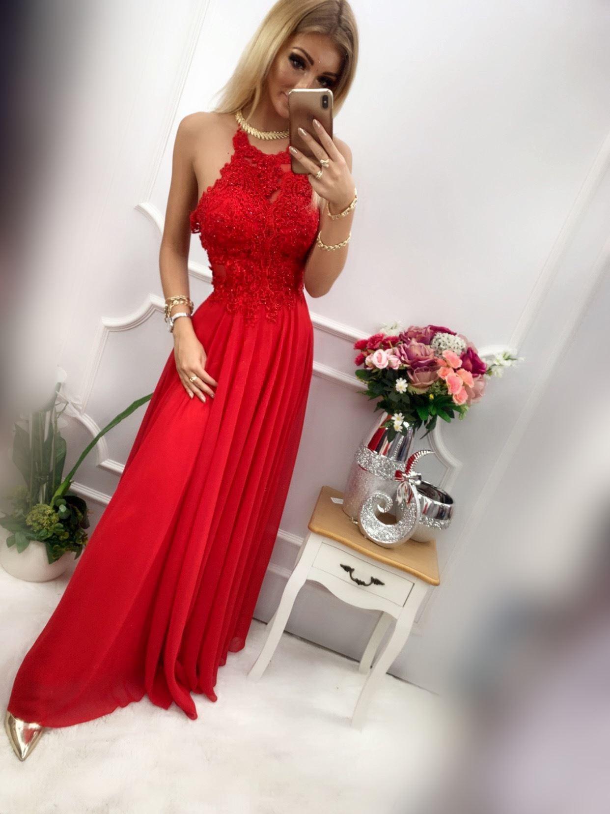 products 0003513 sukienka mercedes dluga czerwona 1
