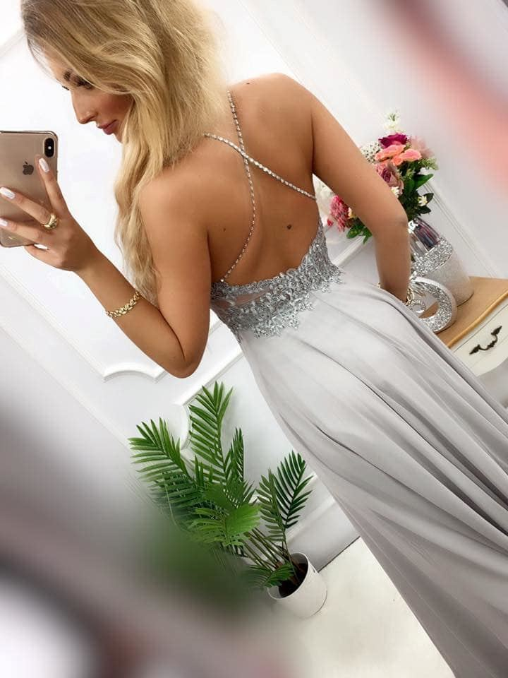 products 0003519 sukienka mercedes dluga szara 1