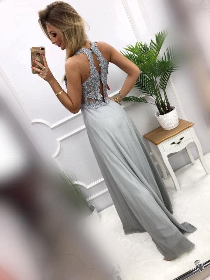 products 0003531 sukienka bugatti dluga szara 1