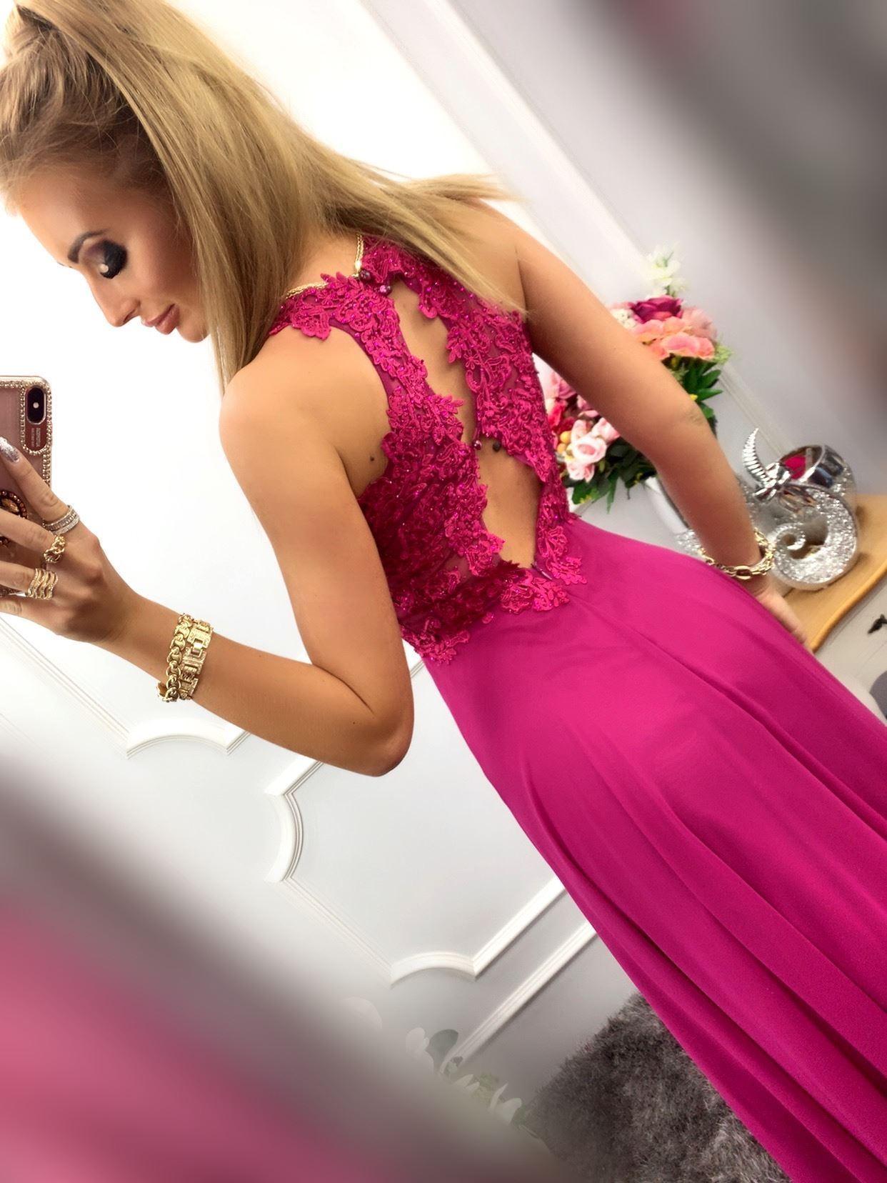 products 0003540 sukienka bugatti dluga fioletowa 1