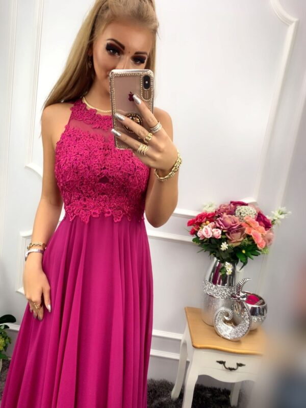 products 0003542 sukienka bugatti dluga fioletowa 1