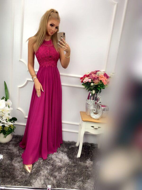 products 0003543 sukienka bugatti dluga fioletowa 1