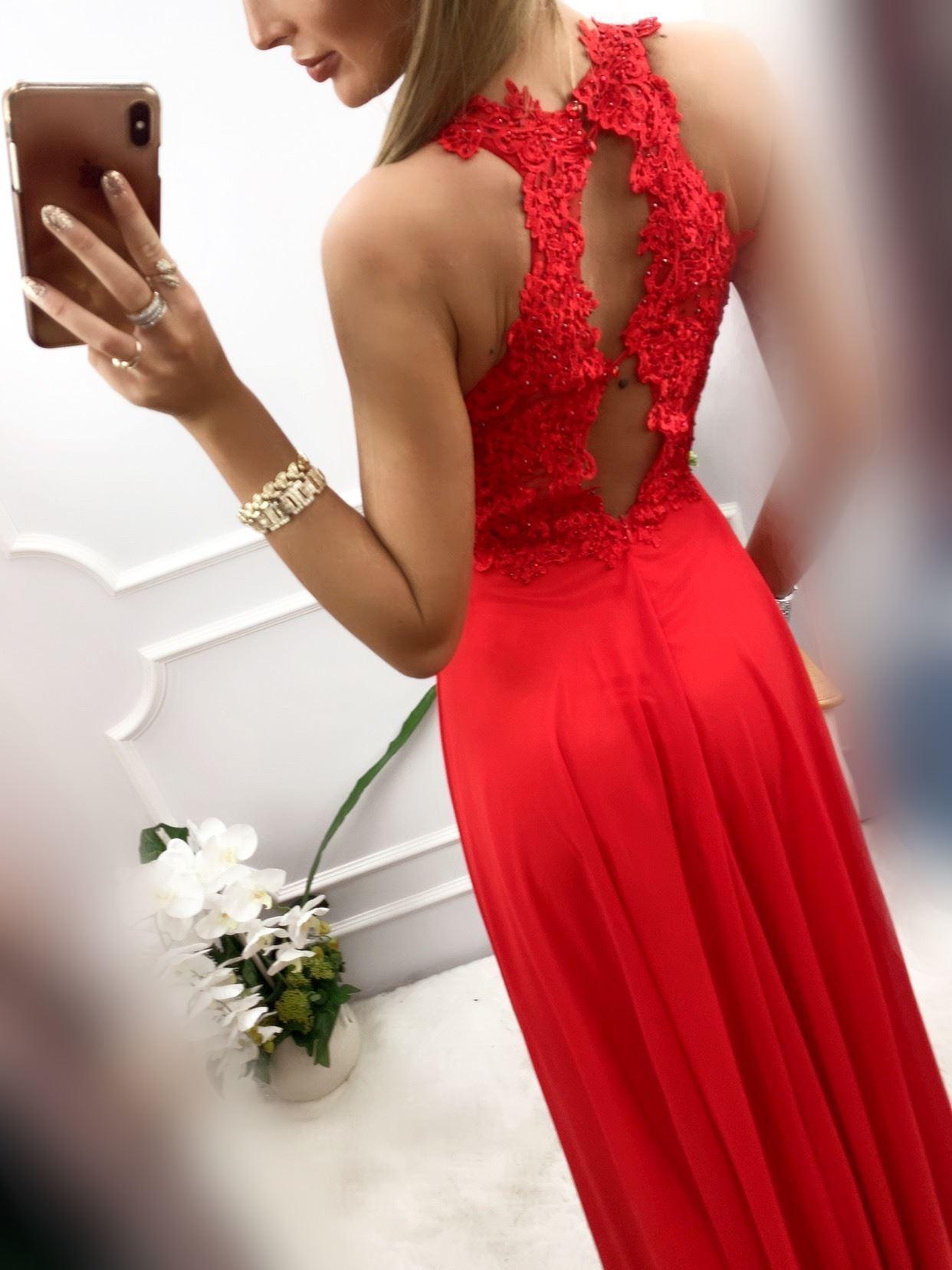 products 0003546 sukienka bugatti dluga czerwona 1