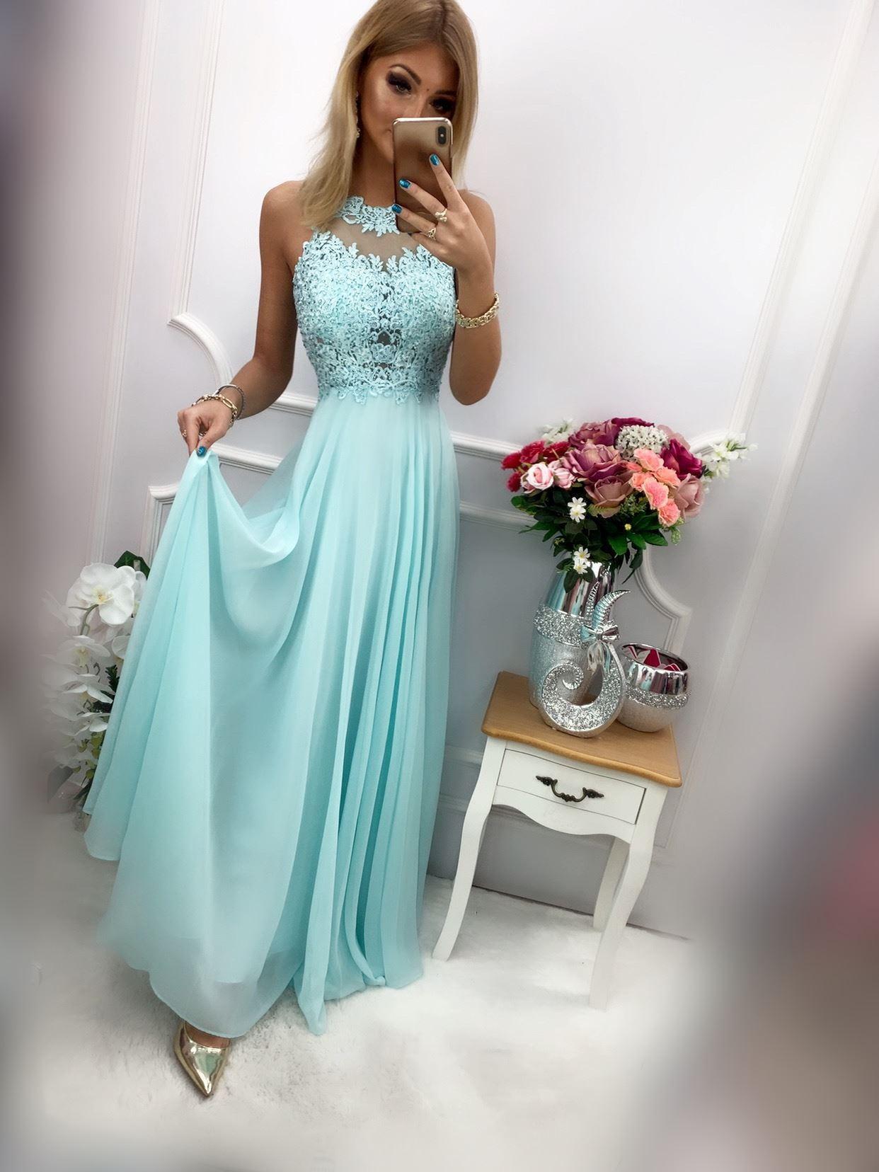 products 0003553 sukienka bugatti dluga mietowa 1