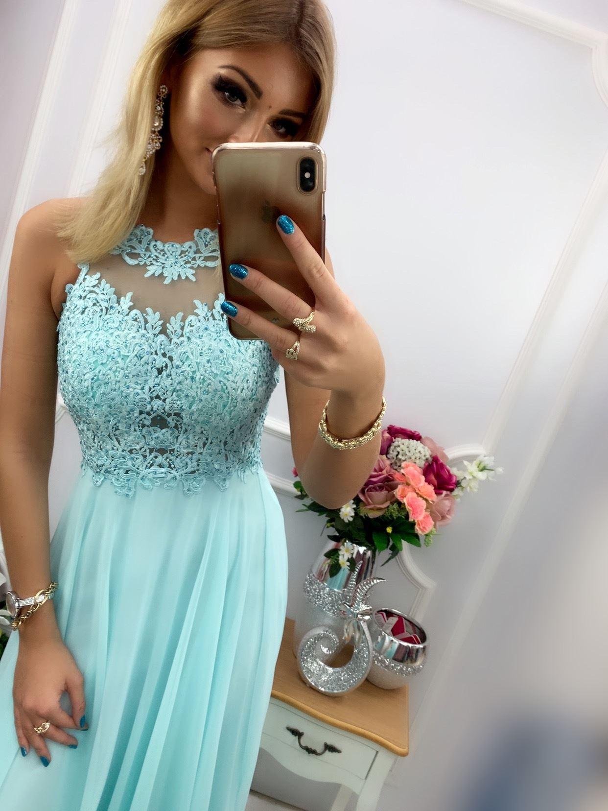 products 0003555 sukienka bugatti dluga mietowa 1