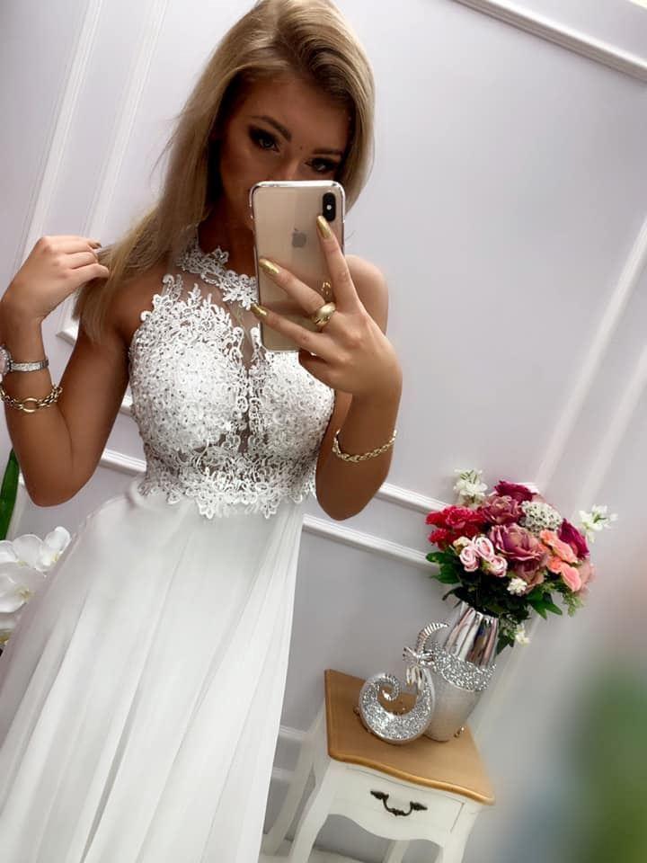 products 0003558 sukienka bugatti dluga biala 1