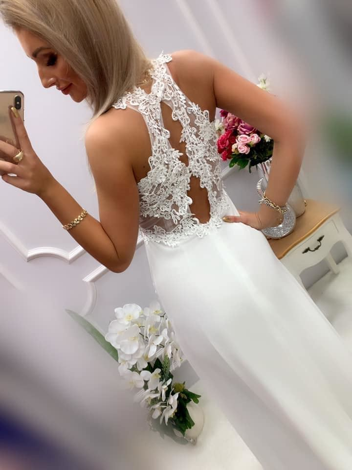 products 0003560 sukienka bugatti dluga biala 1