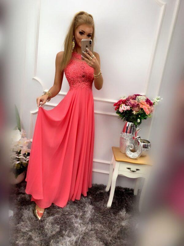 products 0003575 sukienka bugatti dluga koralowa 1