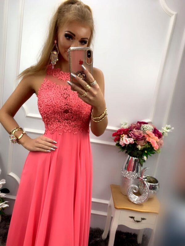 products 0003576 sukienka bugatti dluga koralowa 1