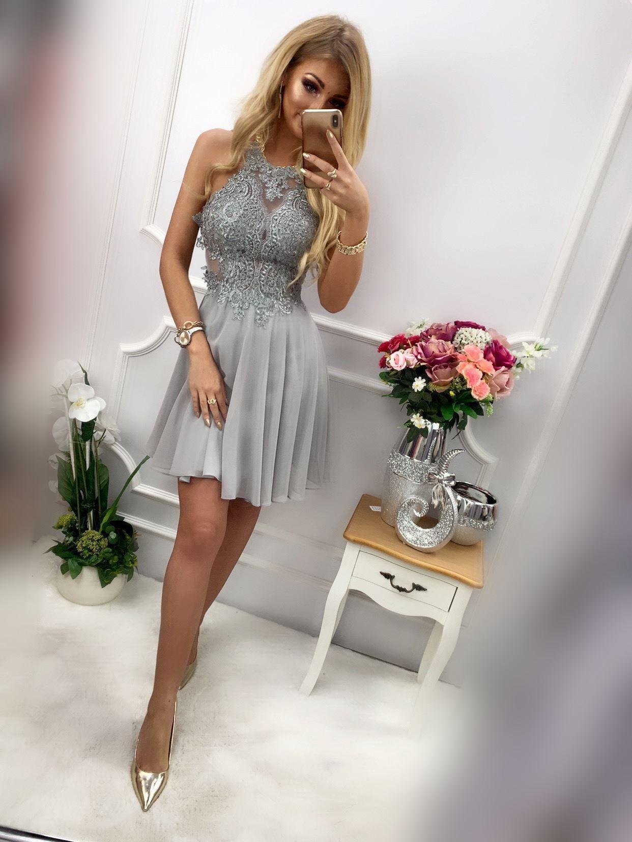 products 0003596 sukienka mercedes krotka szara 1