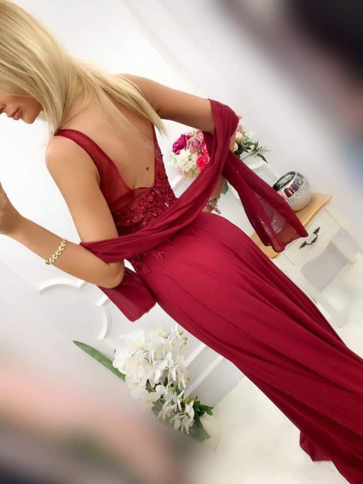 products 0003611 sukienka jagoda dluga bordowa 1