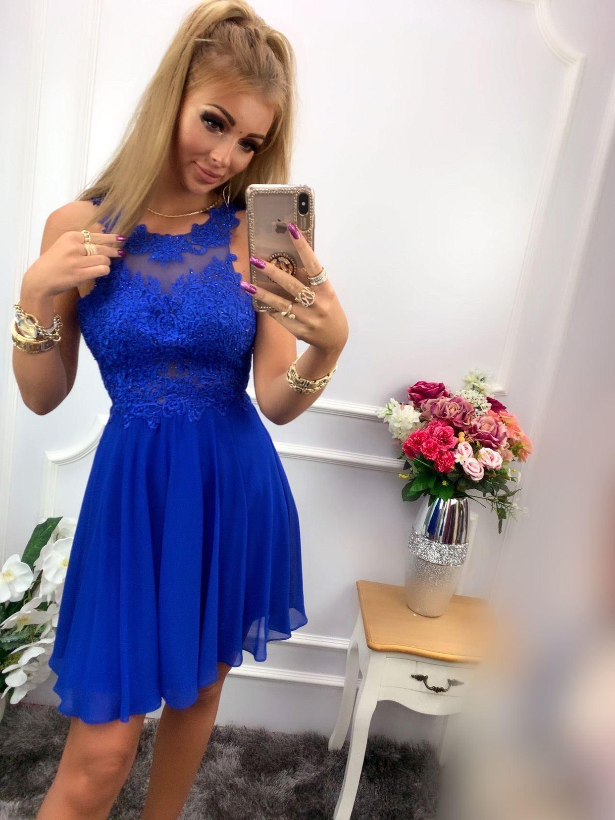 products 0003639 sukienka bugatti krotka chabrowa 1