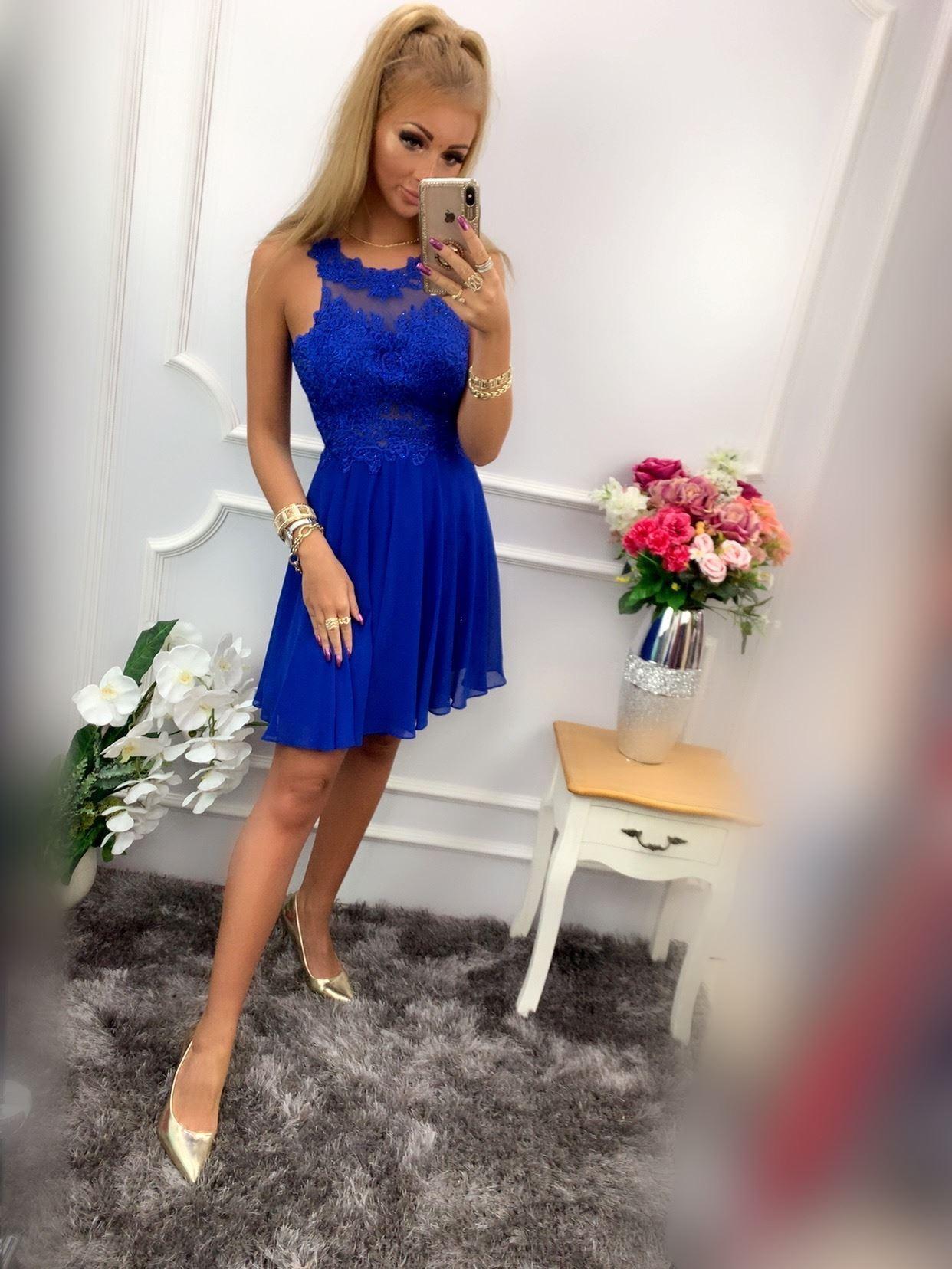 products 0003640 sukienka bugatti krotka chabrowa 1