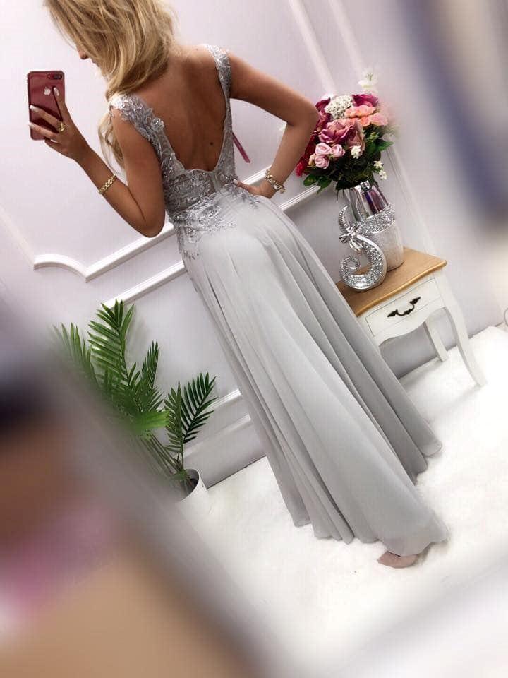 products 0003651 sukienka diva dluga szara 1