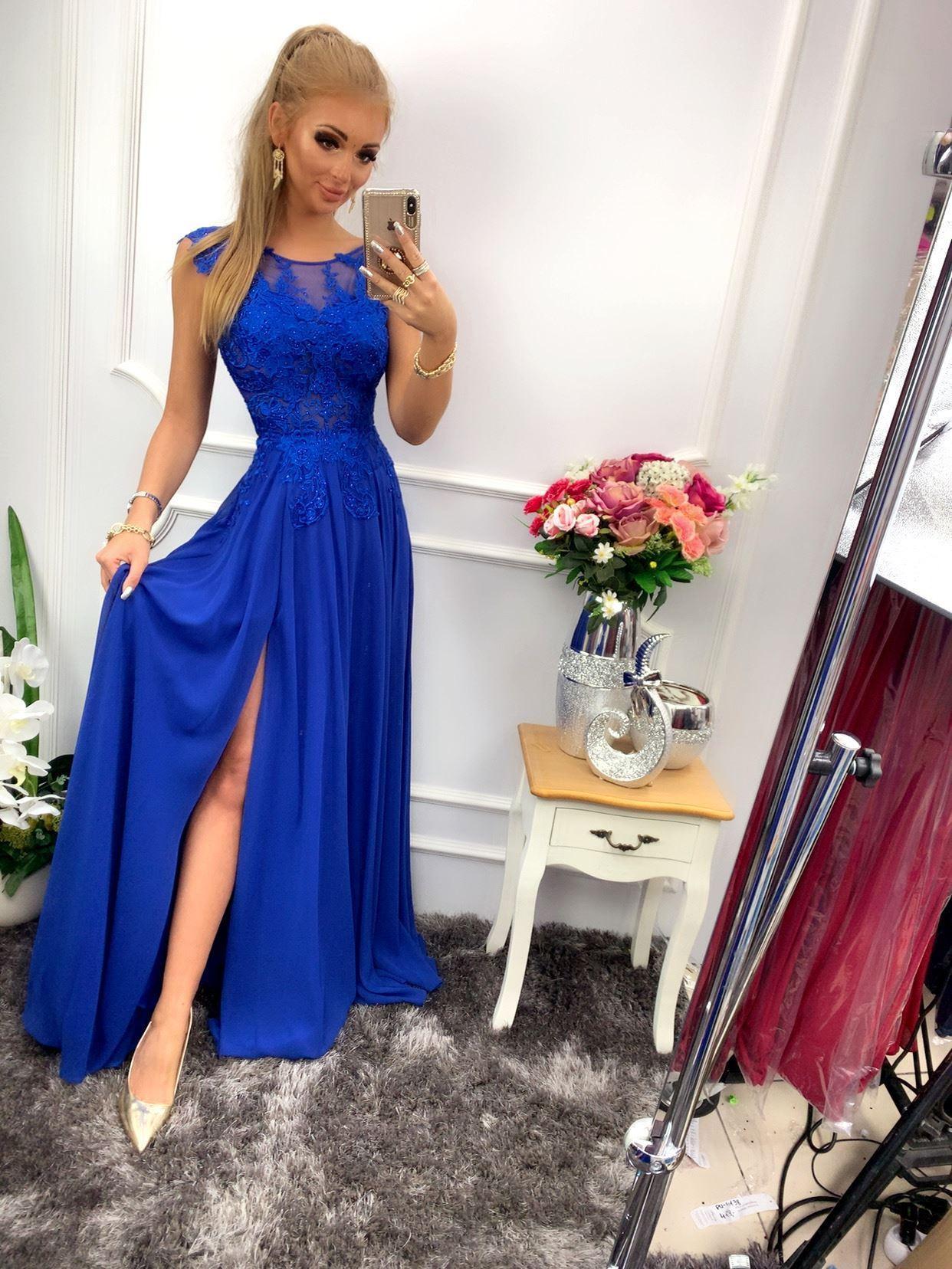 products 0003653 sukienka diva dluga chabrowa bis 1