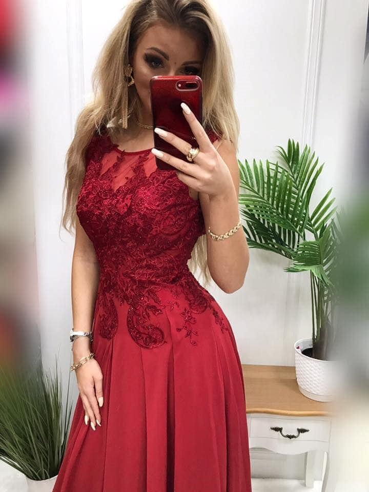 products 0003655 sukienka diva dluga bordowa 1