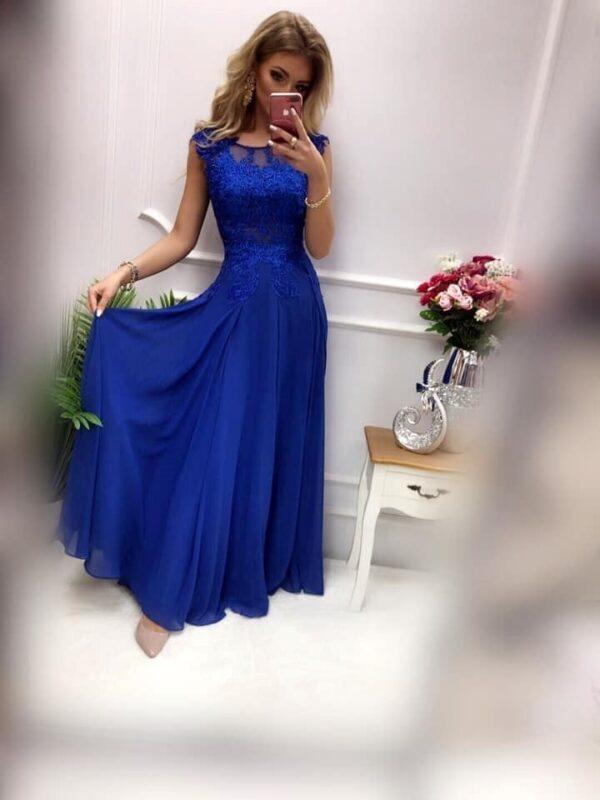 products 0003659 sukienka diva dluga chabrowa 1