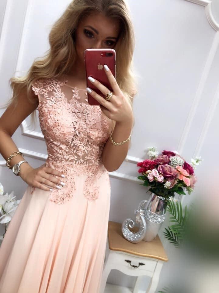products 0003663 sukienka diva dluga pudrowy roz 1