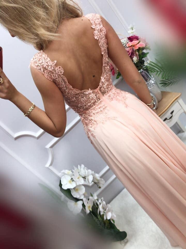 products 0003665 sukienka diva dluga pudrowy roz 1