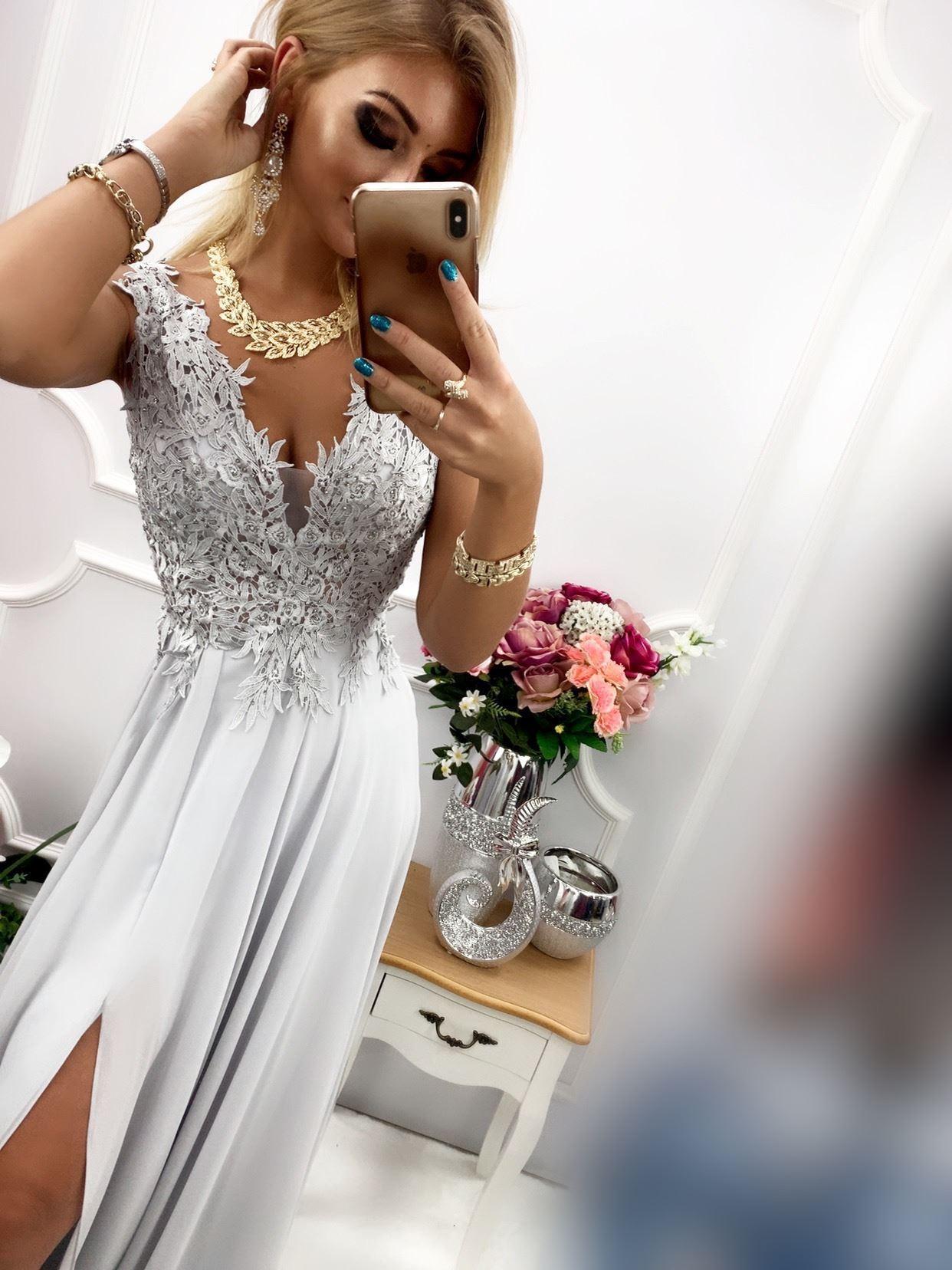 products 0003671 sukienka loren dluga szara 1