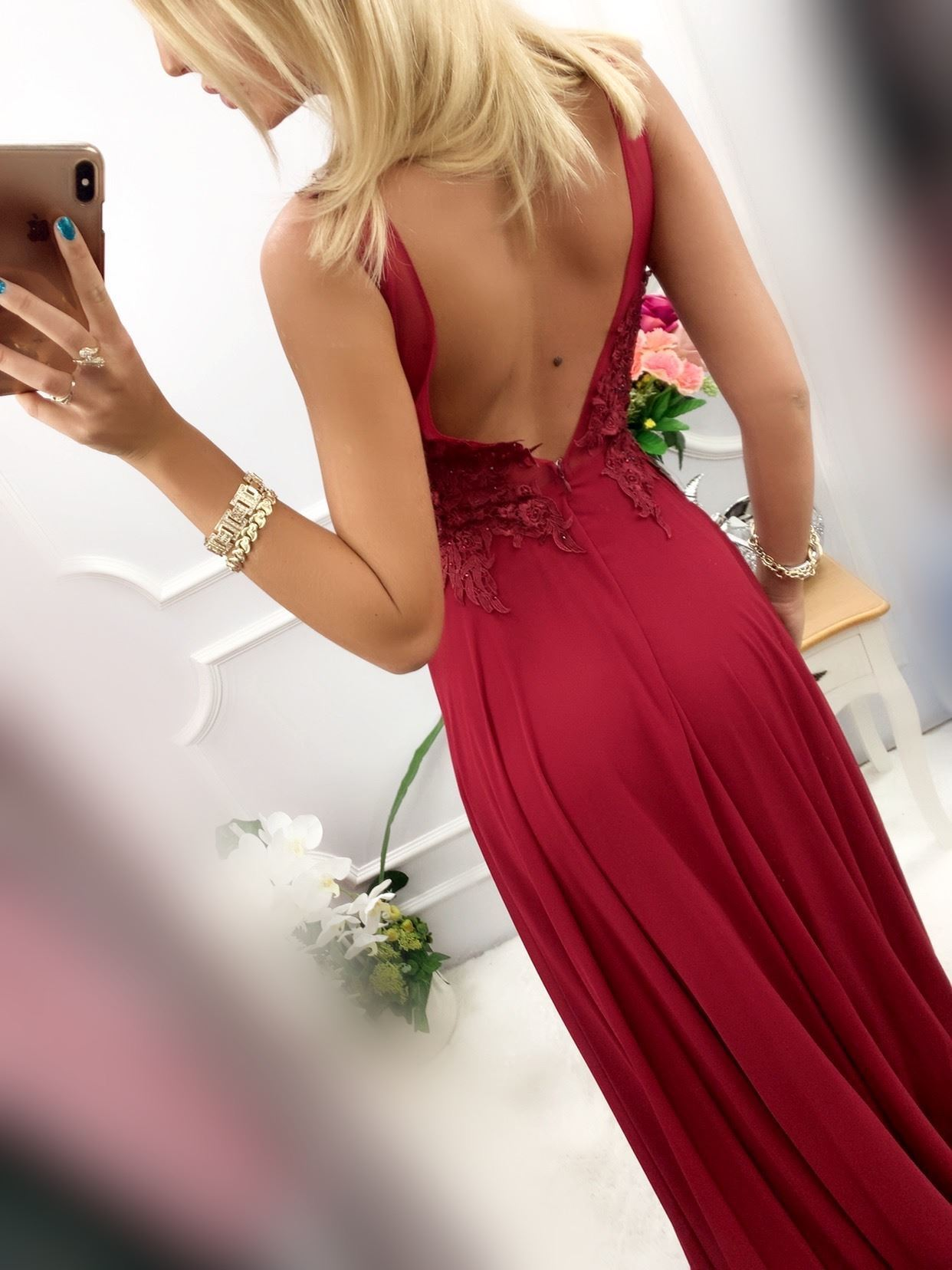 products 0003682 sukienka loren dluga bordowa 1