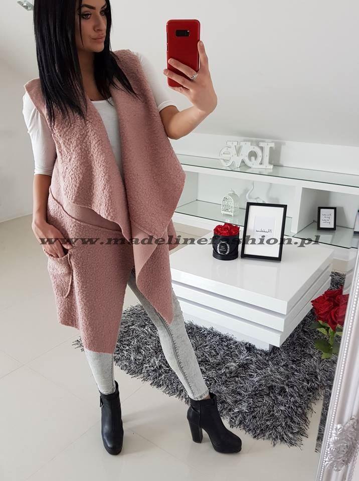 products 0002699 kamizelka davids dluga rozowa 1
