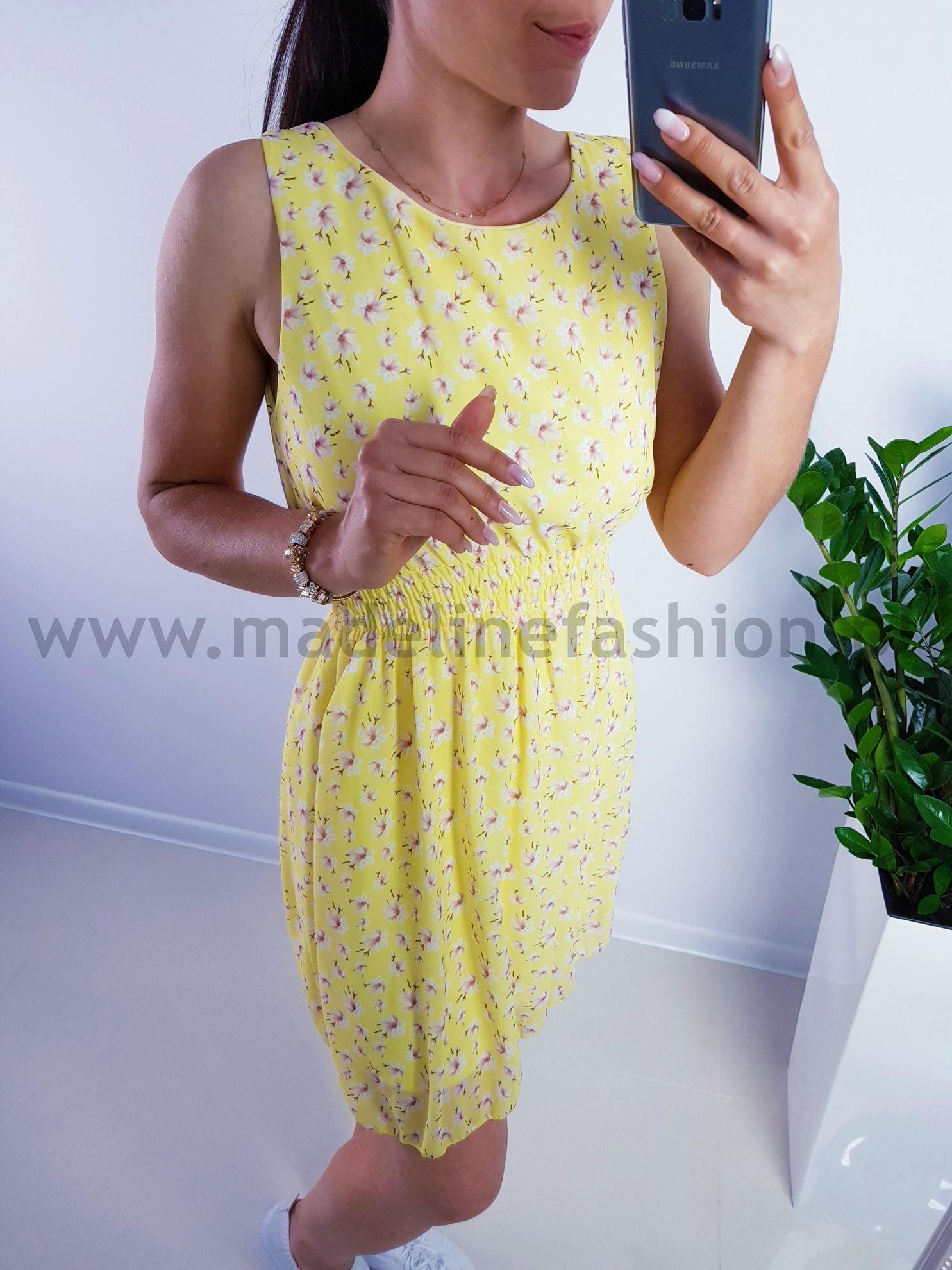 products 0003843 sukienka flavio midi zolta 1