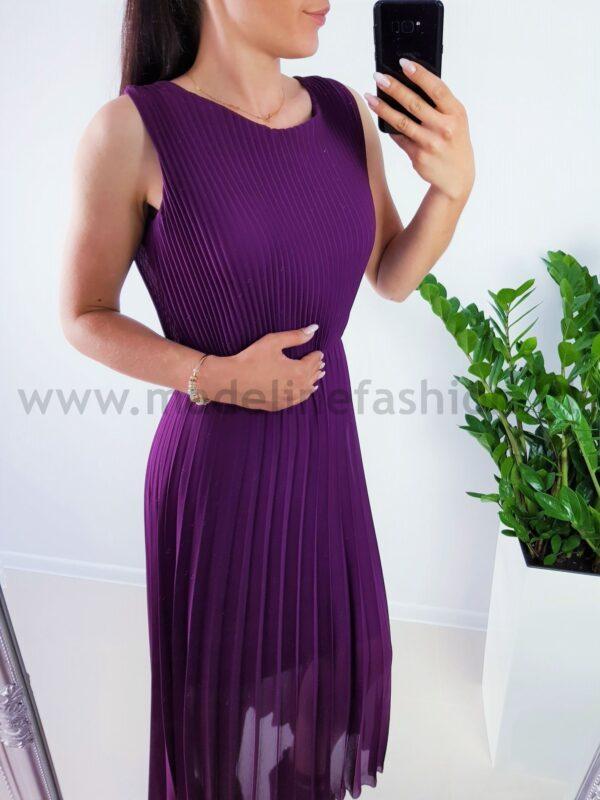 products 0003852 sukienka plisowana dalmatia maxi fiolet 1
