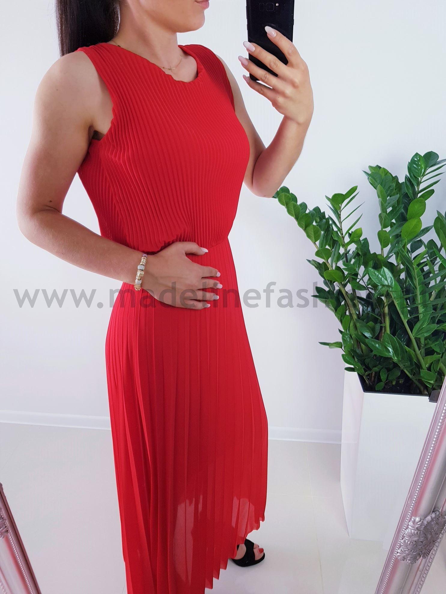 products 0003858 sukienka plisowana dalmatia maxi czerwona 1