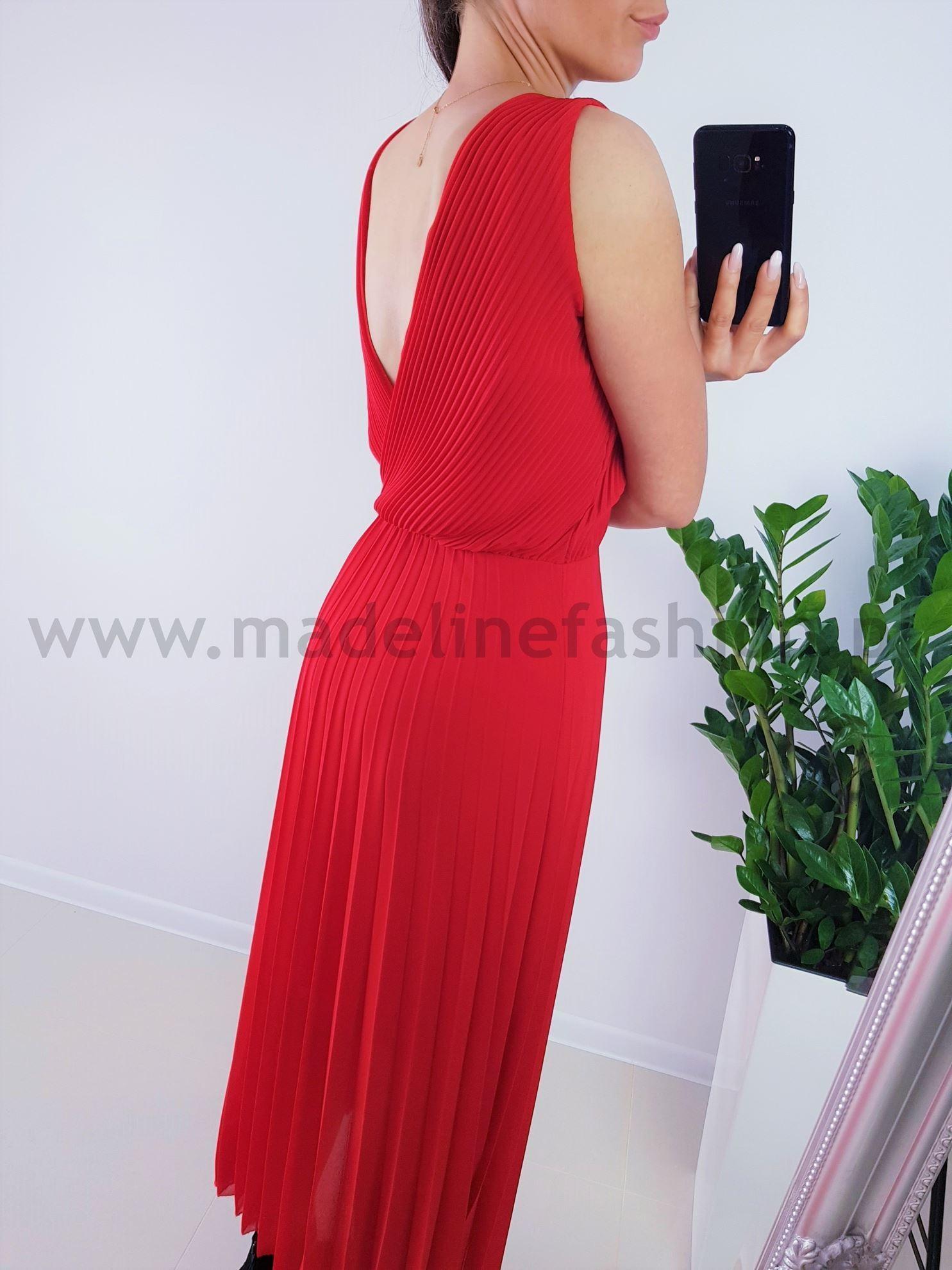 products 0003859 sukienka plisowana dalmatia maxi czerwona 1