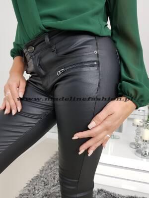Spodnie Skóra Zipp Zamek