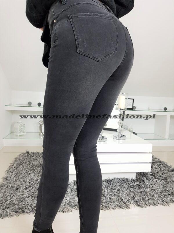 Spodnie Jeans Ciemne
