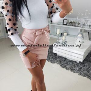 Spódnica Mini Crezy Pudrowy Róż