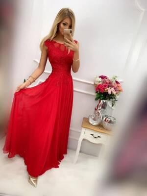 Sukienka DIVA DŁUGA Czerwona